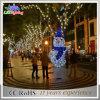 Luz mágica da decoração do boneco de neve do Natal do diodo emissor de luz dos presentes