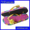 2016 девушок Fashion Flower Straps Soft ЕВА Sandal (14E047)