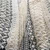 Tessuto di nylon del merletto del vestito da estate delle 2017 signore di modo