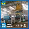 Fabricación automática de la máquina de fabricación de ladrillo de la pavimentadora del cemento del curso de la vida largo