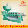 Máquina grande Yzyx168 de la extracción de aceite del cacahuete de la capacidad 800kg/H