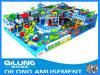 Recentemente campo de jogos plástico das crianças do certificado do CE do projeto (QL-150528D)