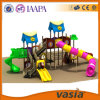 Campo de jogos plástico, material de LLDPE e tipo ao ar livre facilidades do campo de jogos do divertimento