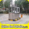 Cabine de protection de sécurité extérieure en acier inoxydable portable