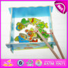 2015 ново и Popular Wooden Fish Toy для Kids, Magnet Wooden Fish Set Toy для Children, Best Seller смешного Fishing Game Toy W01A068