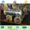 Couverture saine de laines de verre d'imperméabilisation avec le papier d'aluminium