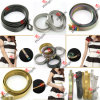 Lady Dress Decoration (SB1-5)のための多彩またはGold/Gun Metal Stainless Steel Belt