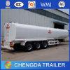 Acoplado del petrolero, buque de petróleo, acoplado de gasolina y aceite del tanque 35000-66000liters