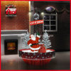 De Kerstman Snowing Christmas Decoration met LED en Music