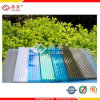 UV Coated Polycarbonate Hollow Sheet Crystal Roofing Sheets для строительного материала