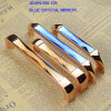 128mm Pitch 5.5  Long Fashion Glass Furniture Handle com Hardware