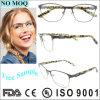 Lente inoxidable de lujo de Eyewear de las mujeres de la venta al por mayor del marco óptico de la muestra libre
