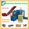 China Automatic Hydraulic Concrete Hollow Block Brick Machine für Construction