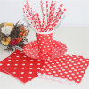 Disposable&Eco-Friendly Party Custom Printed Paper Drinking Straws para Party