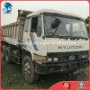 De gebruikte Vrachtwagen van de Stortplaats van bouw-Materialen zuiden-Korea Hyundai-Merk 2003-ingevoerde maximum-20ton met origineel-Motor