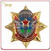 Personalizado duas forças armadas macias do esmalte do revestimento do tom Badge