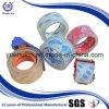 Heißer verkaufender selbstdichtender gummiert Kristall - freies Verpackungs-Band