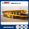 トラックTrailer 40FT Container Flatbed Semi Trailer