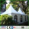 Tente résistante de pavillon de vent d'épreuve de PVC de vent blanc mobile de tissu