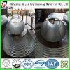 Tubo de acero acanalado de la alcantarilla del camino de la anticorrosión del cinc de acero de la INMERSIÓN caliente