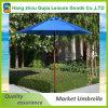 paraguas al aire libre de la cortina de Sun del patio del jardín de la manivela de la playa de la yarda de los 9FT