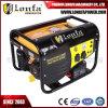 Générateur portatif d'essence de 2.5kVA Astra Corée avec le traitement et les roues