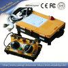 Unidade de controle remoto sem fio F24-60, controlo a distância duplo industrial F24-60 do rádio do manche