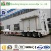 3 Radachsen 30t-46t Hydraulic Low Bed Semi Trailer
