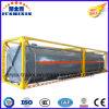 40FT de chemische Vloeibare Semi Container van de Tank van de Aanhangwagen met Frame