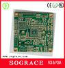 4-laag HASL PCB Circuit Board van Gold Finger met BGA