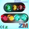 Luces de la señal de tráfico de bicicleta