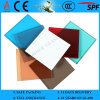 3/4/5/6mm+0.38 Colored PVB+3/4/5/6mm Laminated Glass com as/Nzs2208: 1996