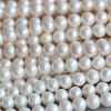 9-10m m Round Fresh Water Pearl Necklace Material Wholesale (E180015)