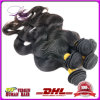 7A Unprocessed Peruvian Virgin Hair Body Wave/Human Hair Weave Extension
