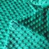 Color verde Minkee DOT Fabric per Baby Sleepingbag Baby Bibs Baby Diaper