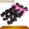 5A Full Cuticle 100%年のVirgin Peruvain Hair (FDXI-PL-0018)
