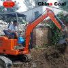 машина землечерпалки миниого утеса 1800kg выкапывая