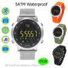 5ATM Waterproof o relógio esperto Ex18 do bracelete do esporte
