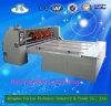 Automatische gewölbte Pappe-Walzen-u. Schneidenu. Aufschlitzenmaschine