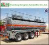 De semi Tanker van de Aanhangwagen voor Benzine, de Aanhangwagen van de Tank van het Zwavelzuur
