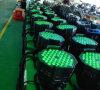 PARIDADE interna Não-Impermeável do diodo emissor de luz de 54PCS 3W