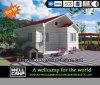 Casa de campo pré-fabricada concreta da casa luxuosa da família