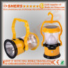 Свет 15 SMD СИД солнечный для располагаться лагерем с электрофонарем 1W (SH-1972C)