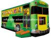 Bus gigante Shape Inflatable Bouncer per Rental Business