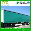 1000*1000d 18*18 Sq/in 튼튼한 PVC 트럭 덮개 방수포