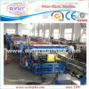 Machines en plastique pour la plaque de réseau de expulsion de panneau de feuille de cavité de PC de PE de pp