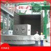 重い部品のStrentheningの自己回転表のショットブラスト機械