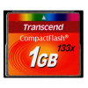 Transcend 1GB 133X Compact Flash Card CF Card Compactflash Cards