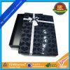Gift negro Box con el Corazón-Shaped ULTRAVIOLETA