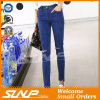 Signora scarna Long Jean Trousers di stirata dell'alta vita